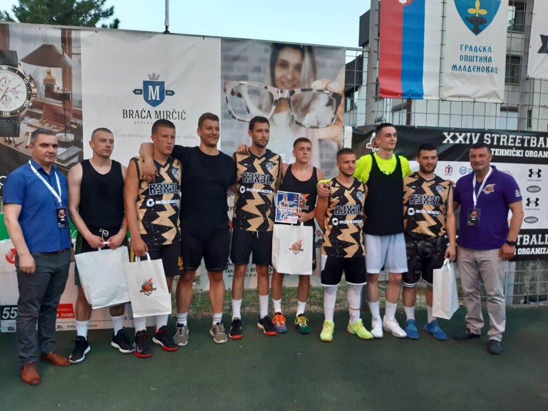 Održan 24 Streetball turnir Mladenovac 2021 (video)