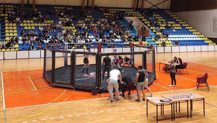 U Mladenovcu održan humanitarni MMA turnir za Ivonu Vasilić (video)