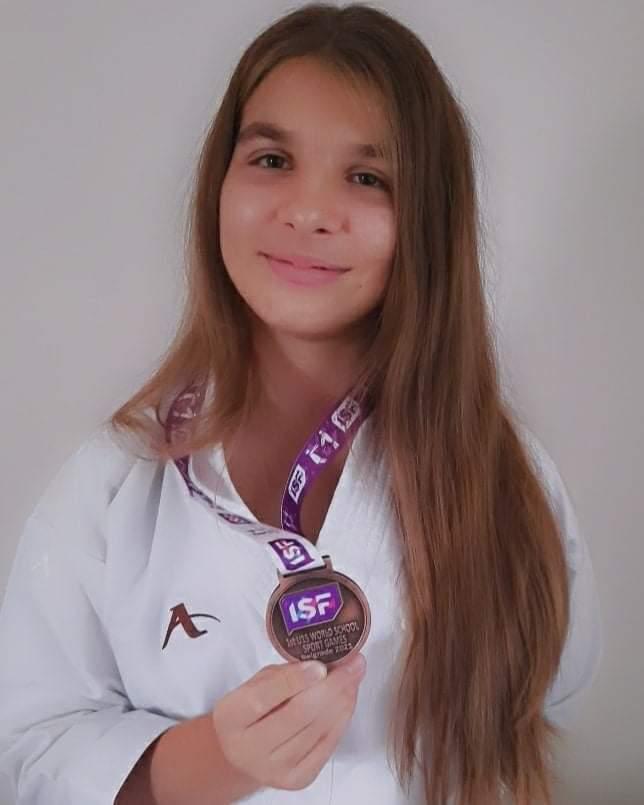 Mladenovčanka Tamara Dimitrijević treća na Svetskim školskim igrama